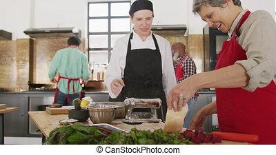 confection, pâtes, chefs