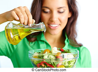 confection, salade