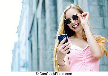 confection, selfie, téléphone