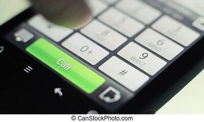 confection, smartphone, appeler