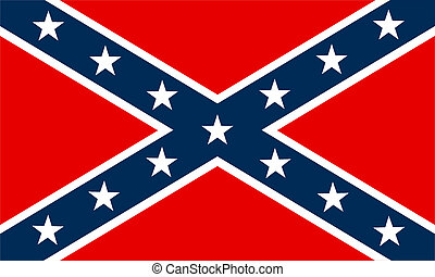 Confederate flag - flag of Confederate