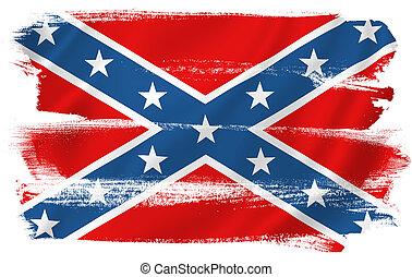 Confederate Flag - Confederate flag Civil War background...