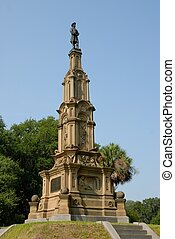 Confederate Monument - Confederate monument to soldiers of...
