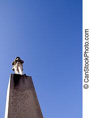 Confederate Soldier Statue
