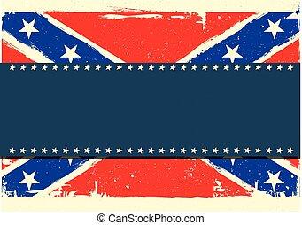 confederation flag background