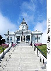 confederato, storico, palazzo di giustizia