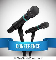 conferência, ilustração