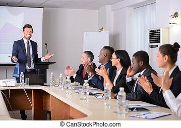 conferência negócio