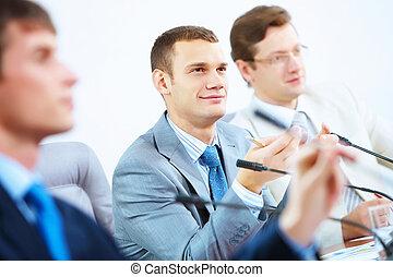 conferência, ou, seminário