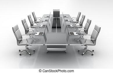 conferência, tabela.