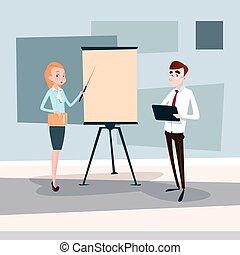 conferência, treinamento, pessoas negócio, mapa, inverter, brainstorming, equipe, apresentação, seminário