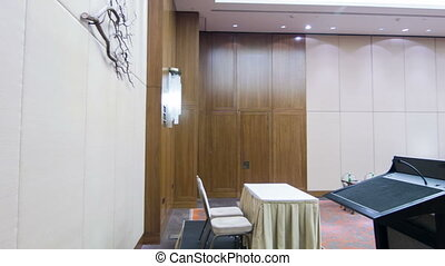 Conference hall or meeting room