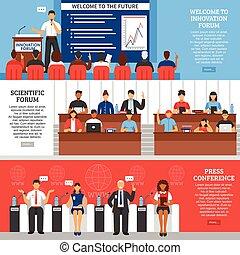 Conference Presentation Banner Set