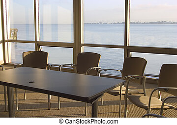 Conference Room #2 - A conference room with a view.