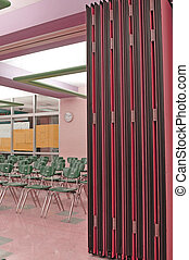 room dividers - conference room dividers