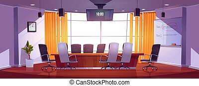 Conference room for business meetings