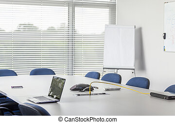 Conference room in corporation facility - Conference room...
