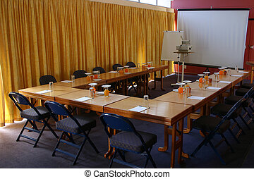 Conference or meeting setup
