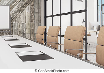 Conference Room Table A D Conference Room Setup With Chairs Around - Conference table setup