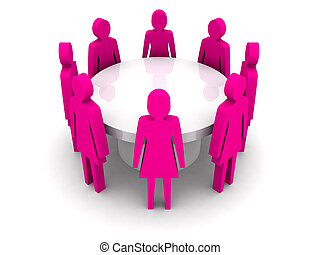 conference., vrouwen