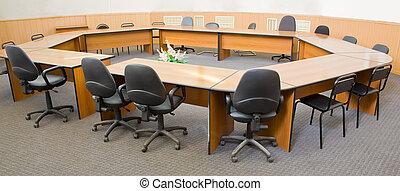 conferencia, centro, empresa / negocio, habitación