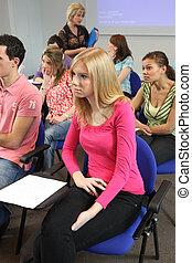 conferencia, jóvenes