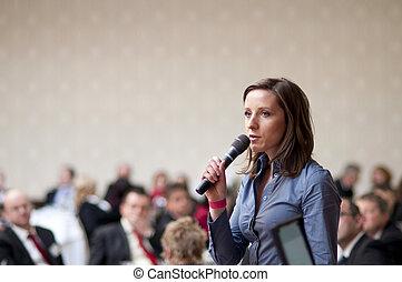 conferencia negocio