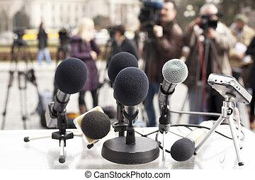 conferencia, noticias