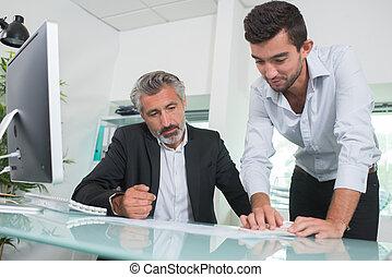 conferentie, discussie, vergadering, zakenlui