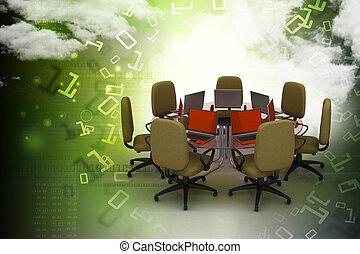 conferentie tafel