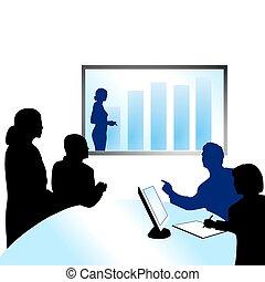 conferentie, video
