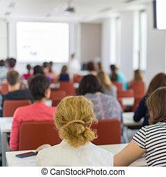 conferenza, a, university.