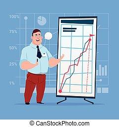 conferenza, addestramento, finanziario, affari, grafico, grafico, buffetto, brainstorming, presentazione, seminario, uomo