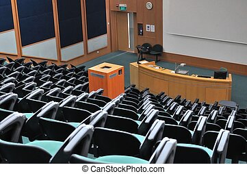 conferenza, teatro