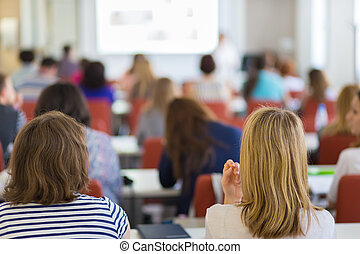conferenza, università