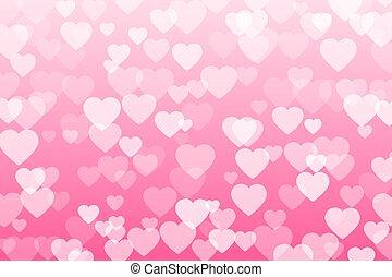 confeti, corazón