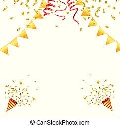 confetti, celebrowanie