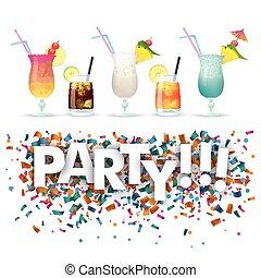 Confetti Cocktails Party
