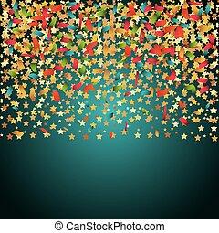 confetti explosion festival isolated