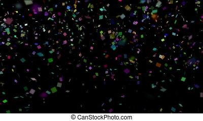 Confetti Falling