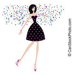 Chic Fashionista Cadeau Cadeau Fashionista Maretak