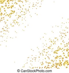 confetti, fond, scintillement, brillant