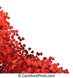 Confetti in shape of heart