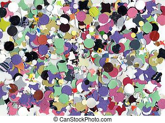 Confetti - Carnival confetti background