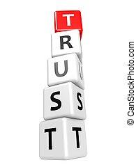 confiança, buzzword