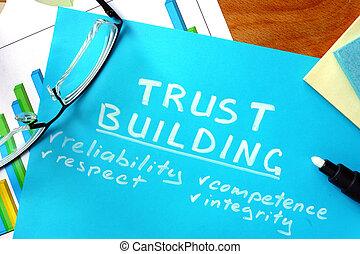 confiance, bâtiment