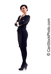 confiant, affaires femme