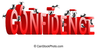 confidence building self esteem and belief psychology red...