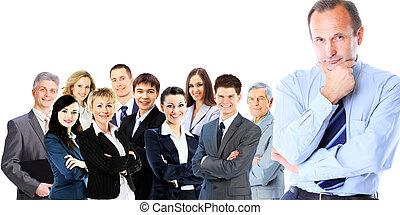confident business man - Portrait of confident business man