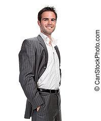 confident business man - Portrait of confident business man...